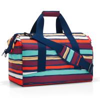 Голяма пътна чанта Reisenthel allrounder L, цветно райе