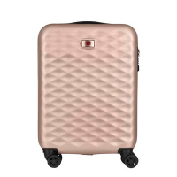 Куфар за ръчен багаж 55см Wenger Lumen Hardside Luggage 20'' Carry-On, розов