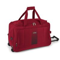 Червена пътна чанта-сак на колела Gabol Roll 60см
