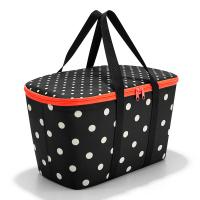 Черно-бяла голяма хладилна чанта Reisenthel Coolerbag