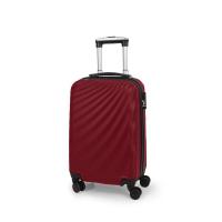Малко червено куфарче Gabol Royal 57см на четири колела