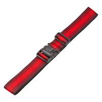 Колан за куфар в черно и червено Wenger Luggage Strap