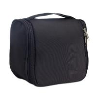 Черна чантичка за принадлежности със закачалка за път
