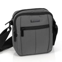 Сиво-черна чанта за през рамо Gabol Gear