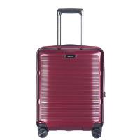 Изискан куфар за ръчен багаж 55см Puccini Vienna, червено вино