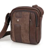 Мъжка чанта за през рамо еко кожа с два предни джоба Gabol Welcome