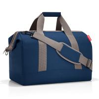 Тъмносиня голяма стилна пътна чанта Reisenthel allrounder L