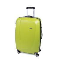 Свеж яркозелен голям куфар Gabol Line, 90 литра