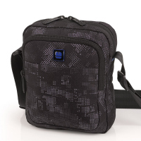 Чанта за през рамо в черно и сиво Gabol Sound