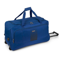 Голяма синя пътна чанта на колела Gabol Roll 73см