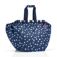 Чанта за пазар в тъмносиньо с дизайн на точки Reisenthel Easyshoppingbag