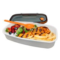 Стилна кутия за храна и салата Vin Bouquet Nerthus с разделител и прибор
