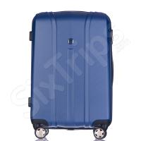 Куфар в синьо Puccini Toronto 64л, поликарбонат