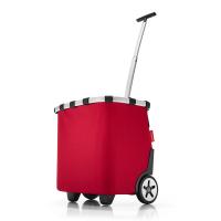 Червена чанта за пазар на колела Reisenthel Carrycruiser