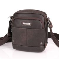 Чанта за през рамо от еко кожа в стилен кафяв цвят Gabol Pocket