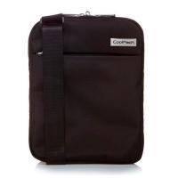 Малка практична черна чанта за през рамо CoolPack Stunt
