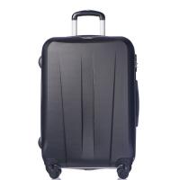 Черен твърд куфар среден размер Puccini Paris 67см