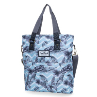 Светлосиня ежедневна дамска чанта CoolPack Amber Surf Palms