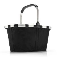 Стилна черна чанта за пазар Reisenthel Carrybag