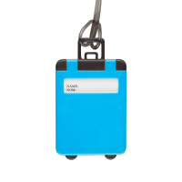Етикет за багаж куфарче Taggy в светлосиньо