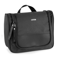 Черна чанта за тоалетни принадлежности Bugatti Contratempo