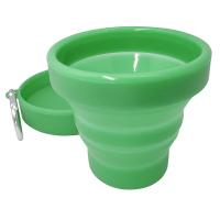 Сгъваема силиконова чаша Vin Bouquet Nerthus с вместимост от 150мл