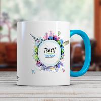Керамична чаша с печат