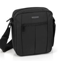 Изискана чанта за през рамо в черно Gabol Gear 21см