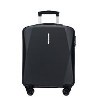 Куфарче ръчен багаж на четири двойни колела в черно Puccini Singapore, поликарбонат