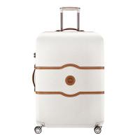 Стилен луксозен куфар Delsey Chatelet Air 77см, в цвят ангора