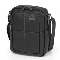 Мъжка черна чанта еко кожа Gabol Studio