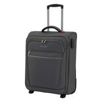 Малко тeкстилно куфарче на две колела Travelite Cabin S, антрацит