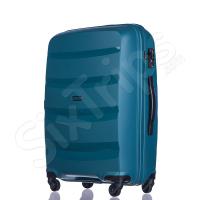 Тъмнозелен твърд куфар среден размер Puccini Acapulco 65л