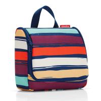 Тоалетна чанта за принадлежности Reisenthel Toiletbag, цветно райе