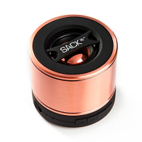 Безжична портативна bluetooth колонка WOOFit, copper