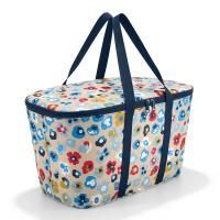 Голяма хладилна чанта на цветя Reisenthel Coolerbag