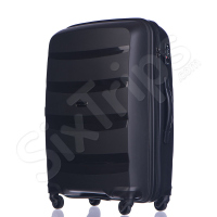 Голям черен стилен куфар Puccini Acapulco 100 литра