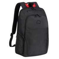 Черна раница за лаптоп Delsey Parvis Plus 15.6