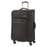 Стилен куфар в черен цвят Travelite Kendo L