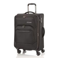 Стилен куфар среден размер в черно Travelite Kendo М