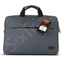 Тъмно сива елегантна чанта за лаптоп Canyon 15
