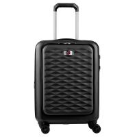 Малък куфар за ръчен багаж с отделение за лаптоп и разширение Wenger Lumen Expandable Hardside