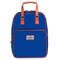 Синя раница и чанта за ежедневието или за пътуване CoolPack Cubic Blue Dots