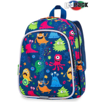 Раница CoolPack Bobby LED Funny Monsters с едно отделение