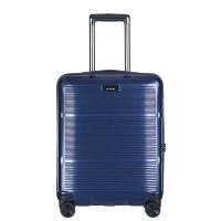Тъмносиньо малко куфарче за ръчен багаж 55см Puccini Vienna