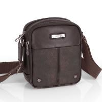 Стилна малка кафява чанта от еко кожа Gabol Pocket