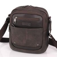 Практична мъжка чанта за през рамото Gabol Pocket, кафява