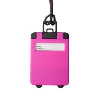 Етикет за багаж във формата на куфар Taggy, цикламен