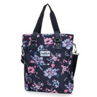 Удобна дамска чанта CoolPack Amber Dark Romance, на цветя