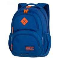Синя раница с оранжеви елементи CoolPack Dart Teal Orange A395